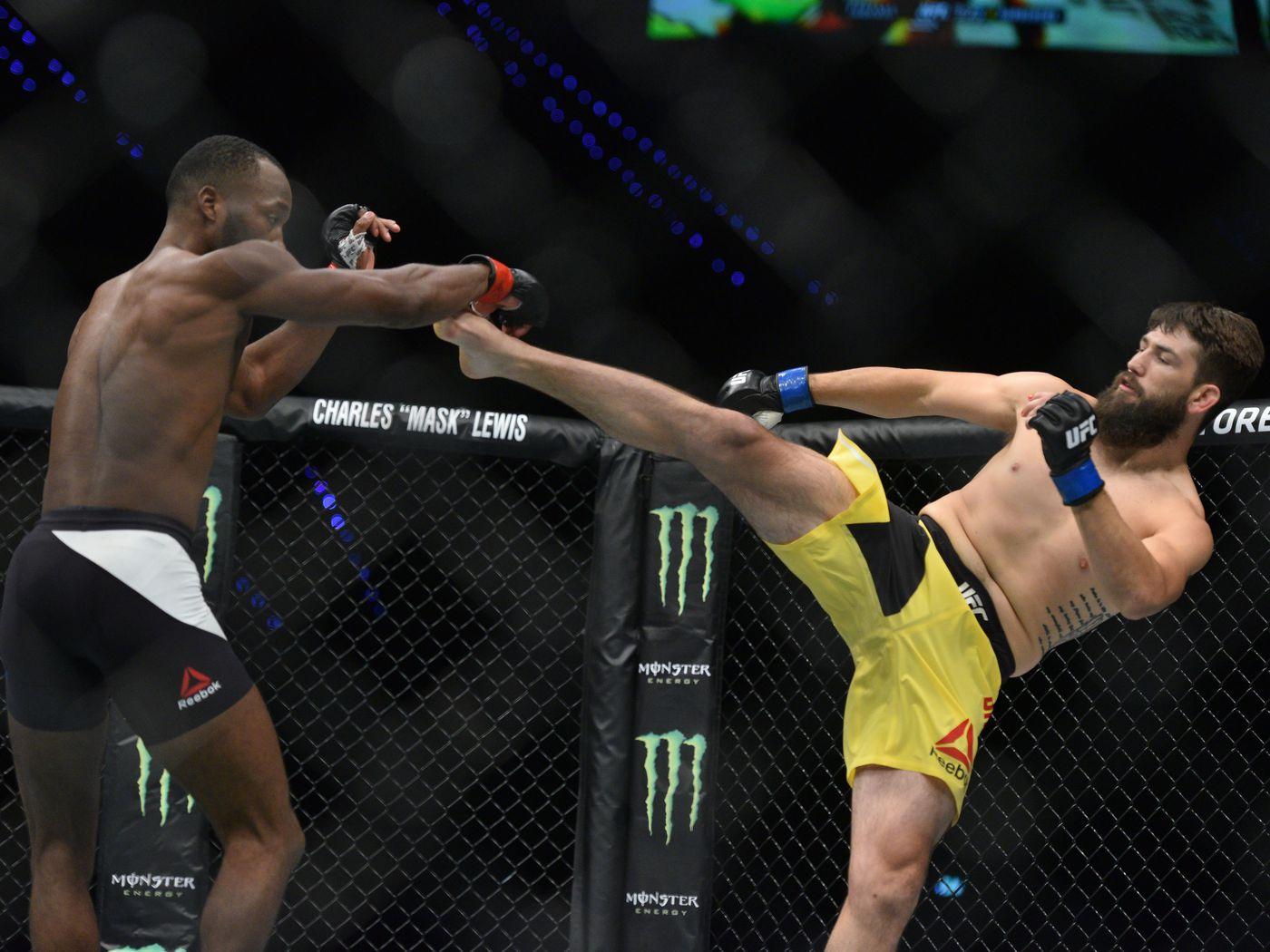 UFC Fight Night 135 card Jake Ellenberger vs Bryan Barberena full 1400x1050