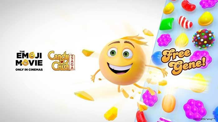 Candy Crush Saga Les niveaux aux couleurs du film Le 700x394