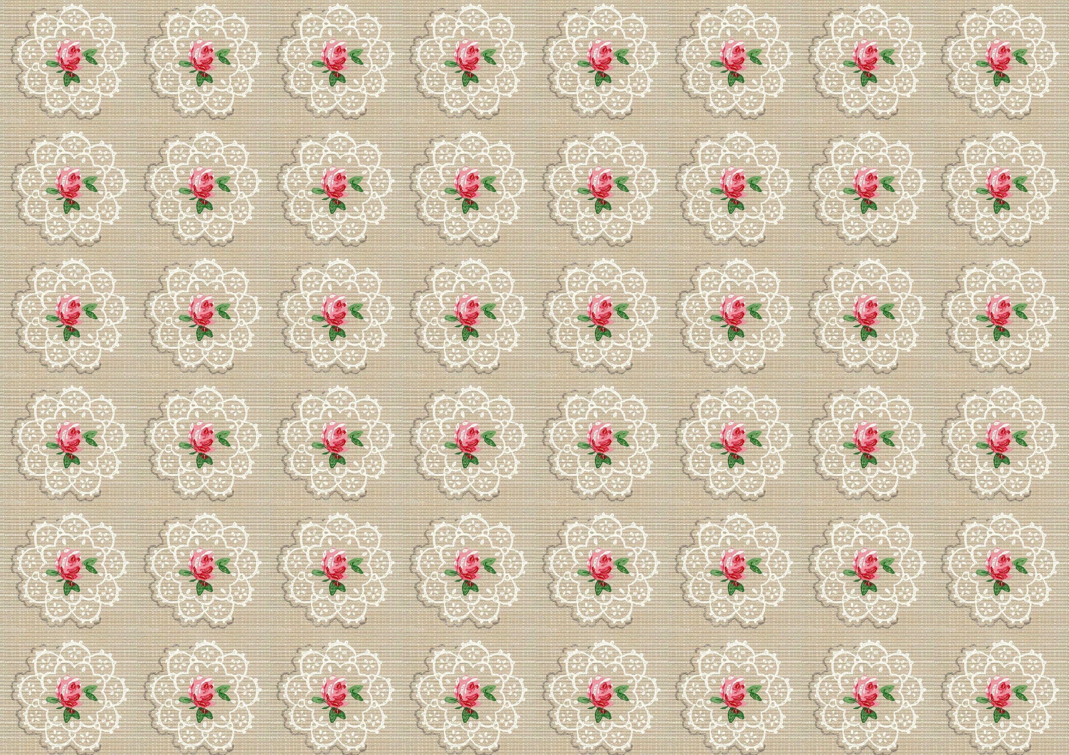 [42+] Shabby Chic Wallpaper on WallpaperSafari