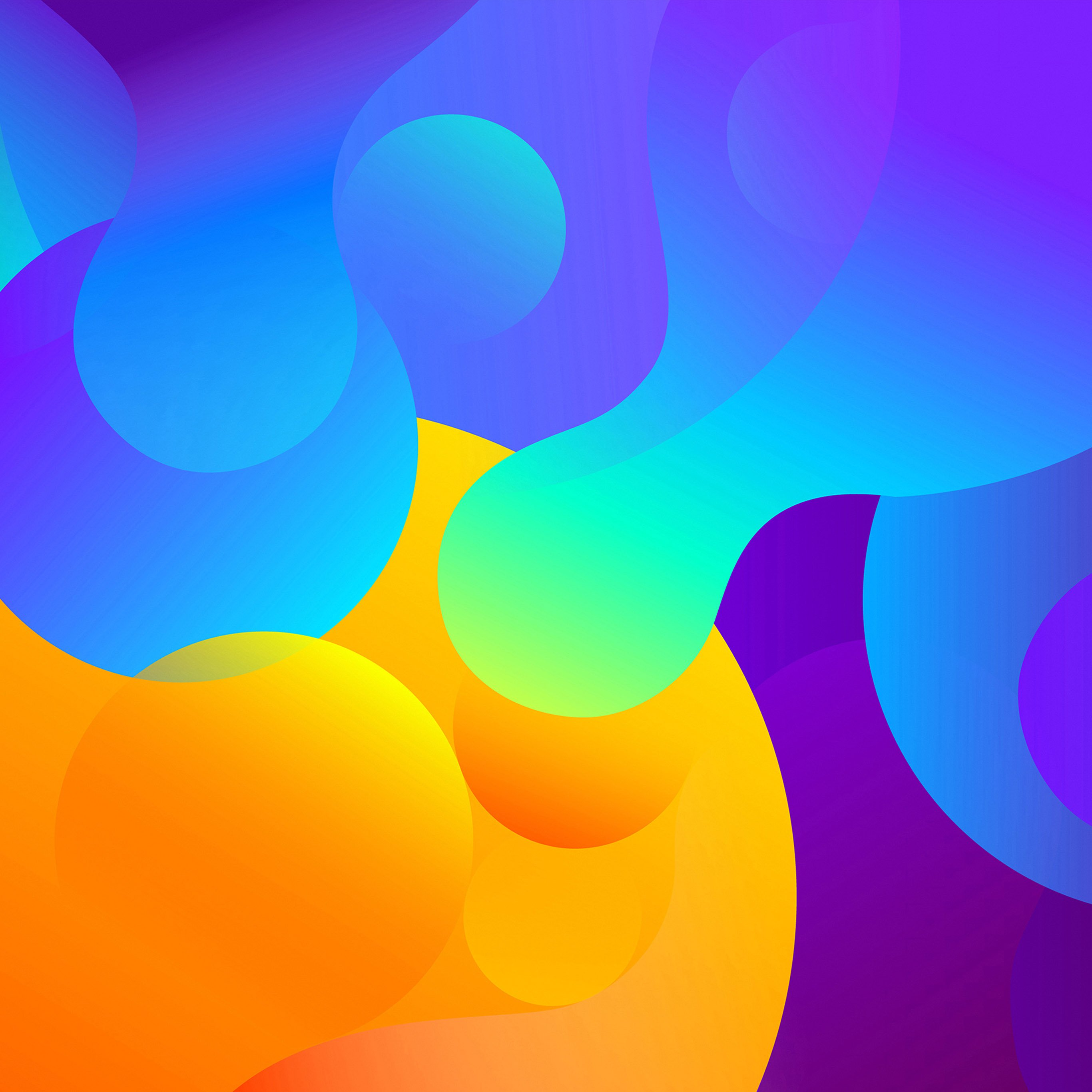 Abstract art color basic background pattern iPad Pro Wallpapers 2732x2732