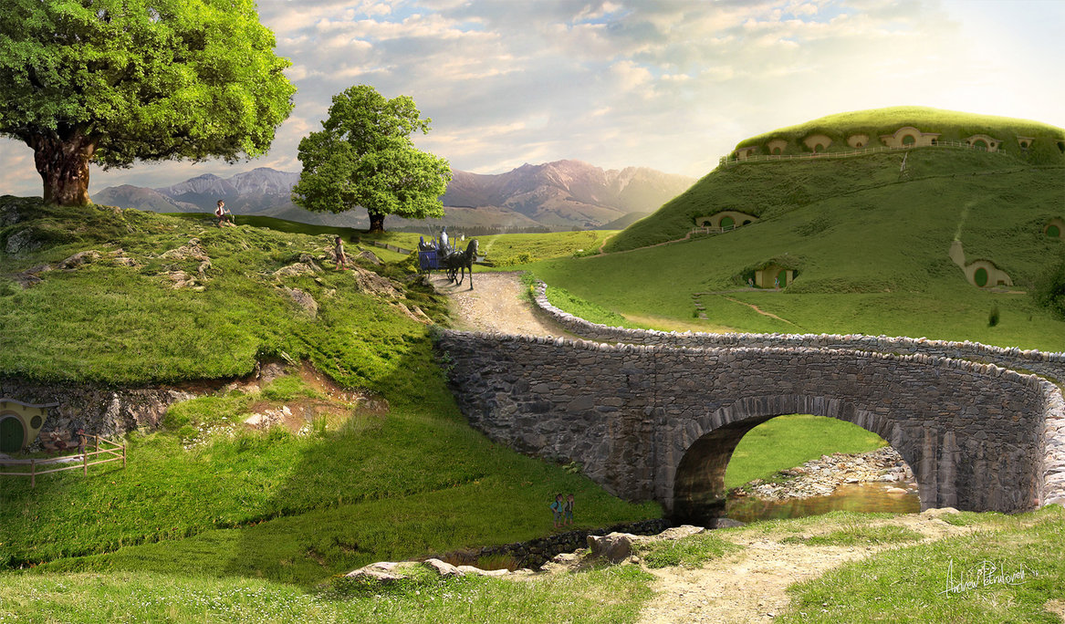 The Shire Wallpaper HD Walls 1167x684