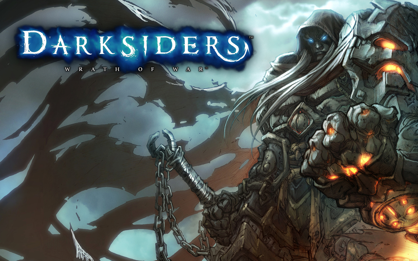 darksiders wallpaper 1440x900