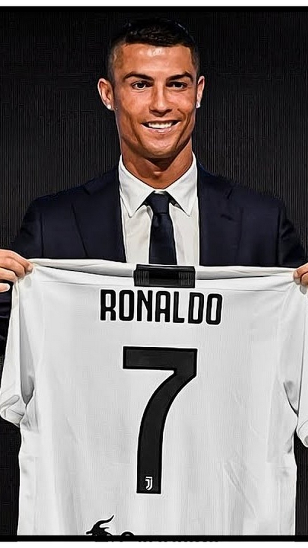 Wallpaper iPhone C Ronaldo Juventus 2020 3D iPhone Wallpaper 1080x1920