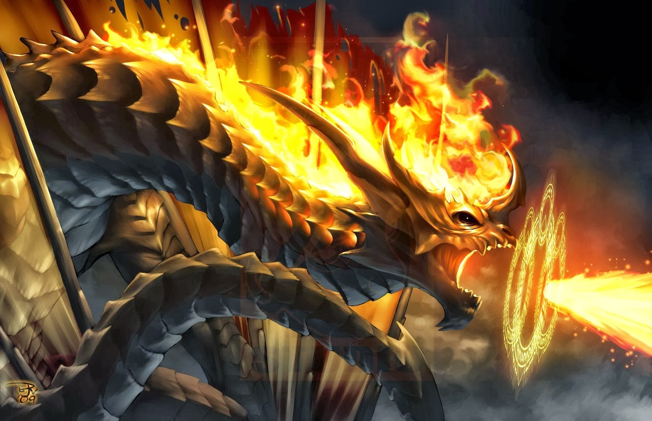Hd Wallpapers Blog Fire Dragon Wallpapers 1280x828