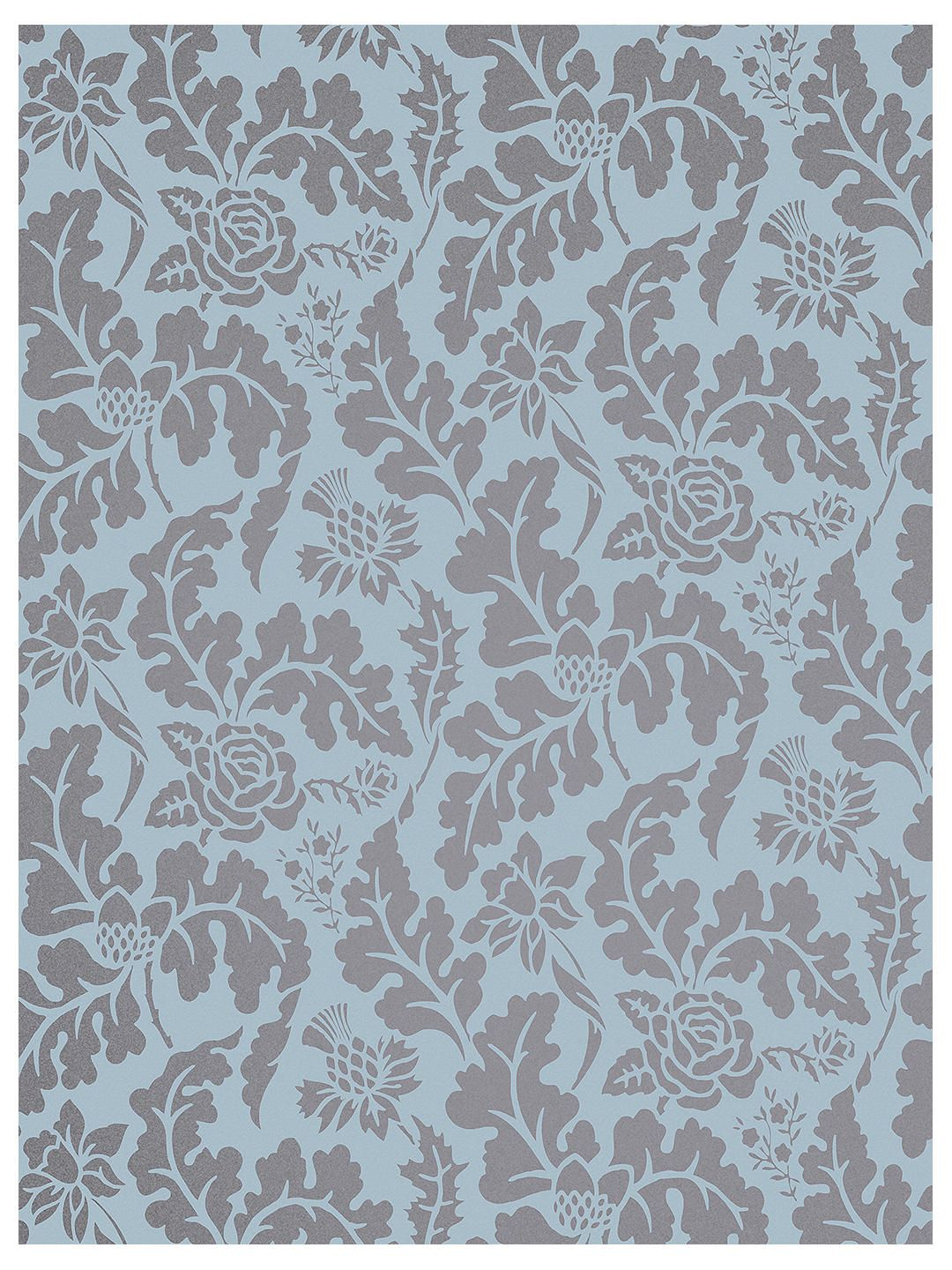 Osborne Little 50th Anniversary British Isles Damask Wallpaper 1080x1440