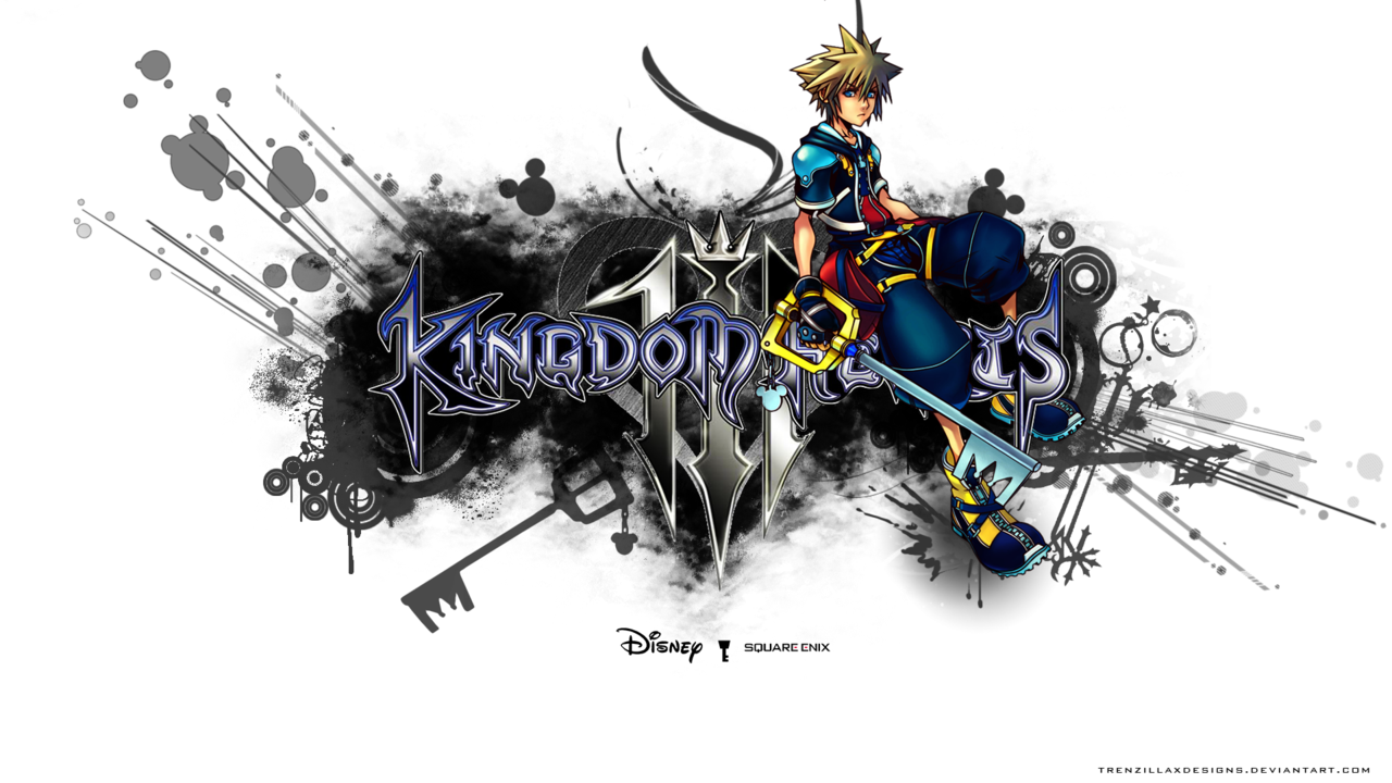 Kingdom Hearts 3 Wallpaper by TrenzillaXDesigns 1280x720