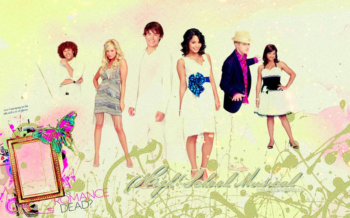 HSM 2 Wallpaper by XxBloodOfVampirexX 1131x707