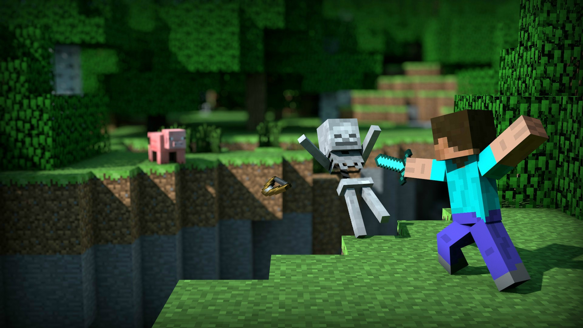 Pin One Of The Best Hd Minecraft Backgrounds Imgur 1920x1080