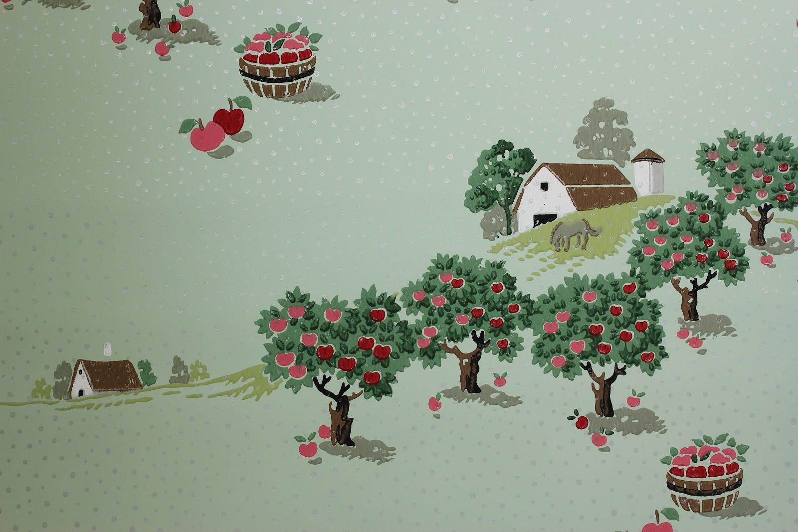 Rosies Vintage Wallpaper History of Kitchen Wallpaper 1600x1067