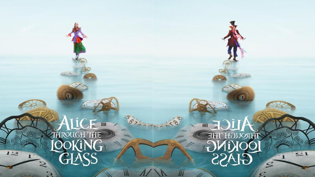 Alice in Wonderland Through Looking Glass Poster Wallpaper Alice 1024x576