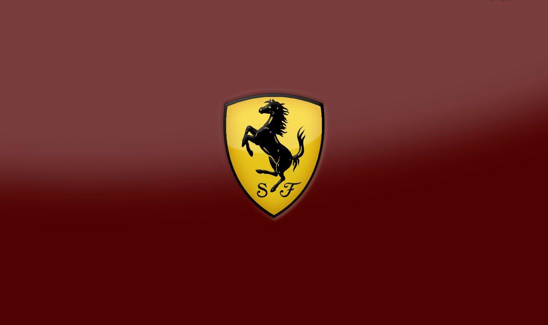 Ferrari logo handy hintergrund