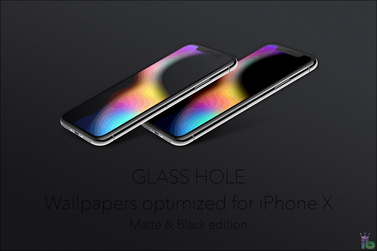 Glass Hole by iBidule RT lockscreen homescreen wallpaper 1200x800