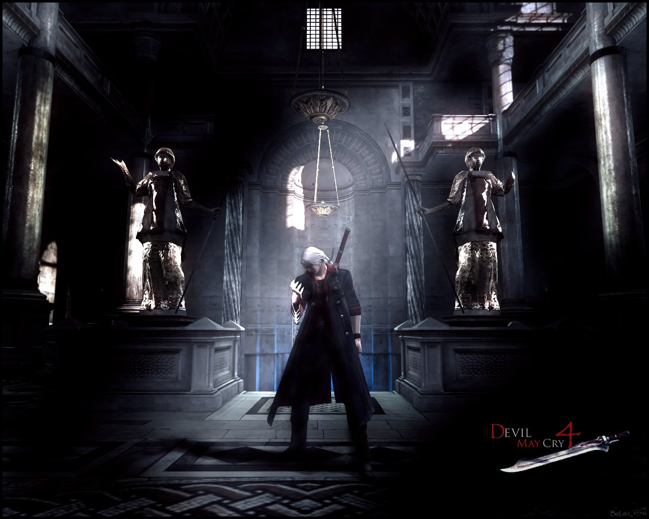 Penny Kane devil may cry 4 wallpaper 1280x1024