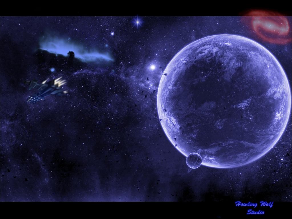 Space Wallpaper Background Theme Desktop 1024x768