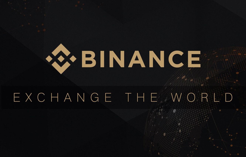 Wallpaper logo black fon exchange exchange Binance images for 1332x850