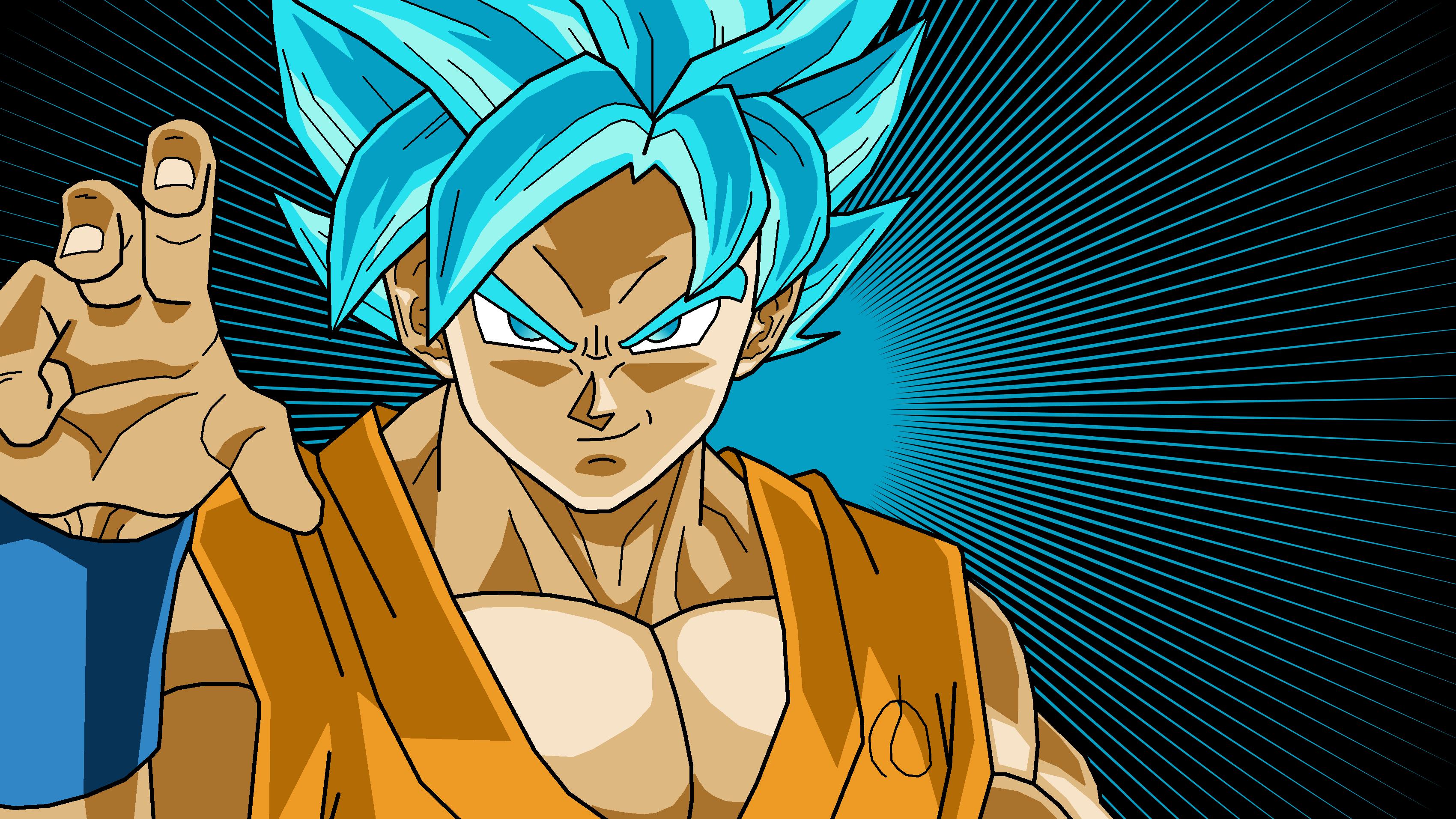 Wallpapers Goku Super Saiyan God