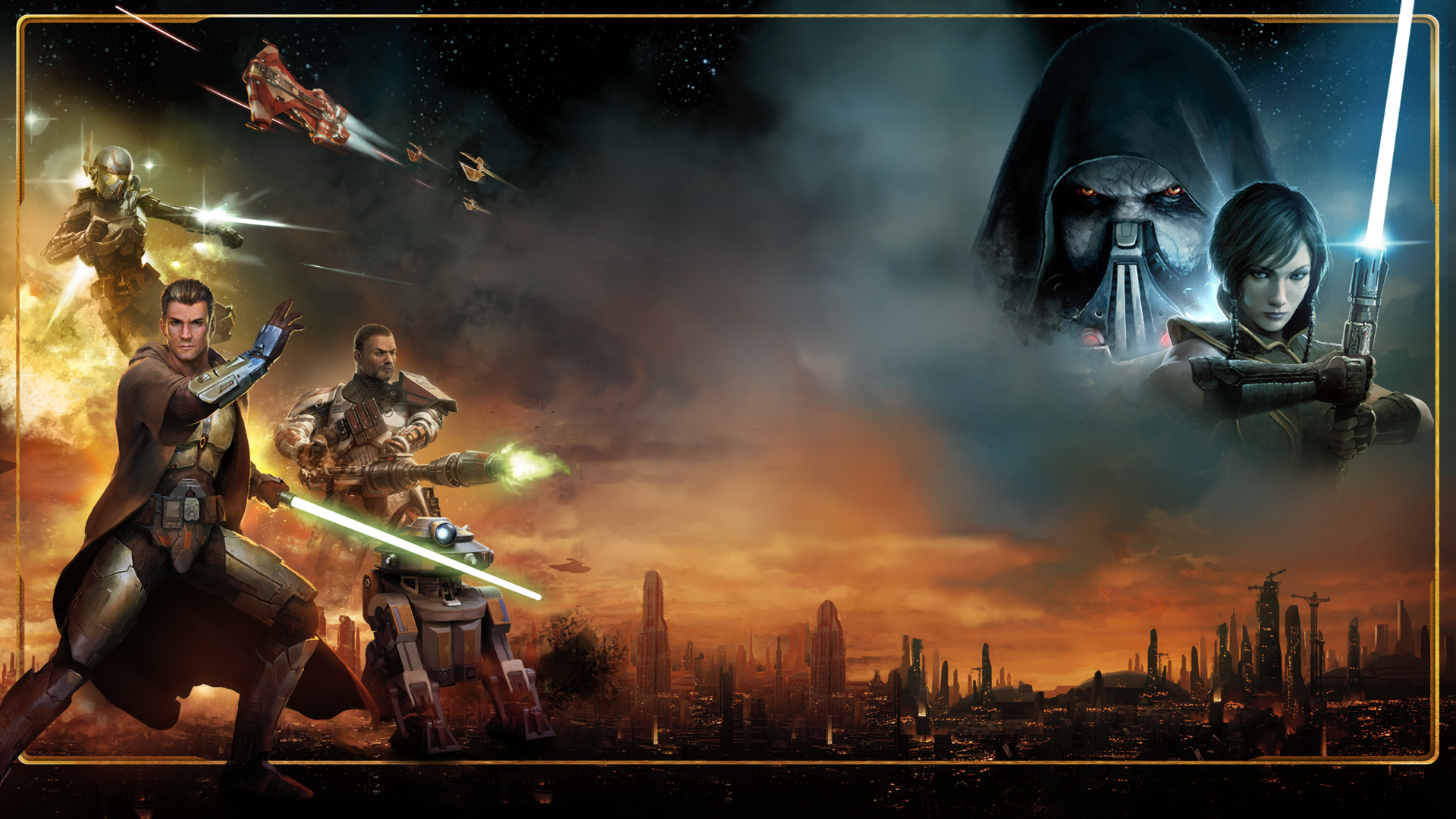 Free Download Star Wars The Old Republic Unofficial Desktops For