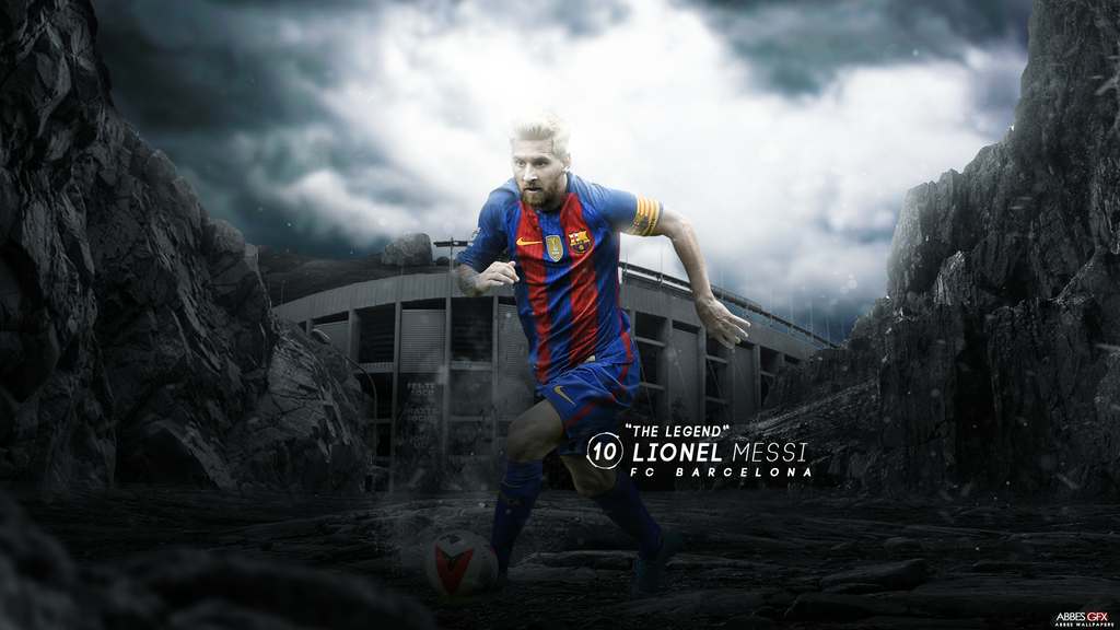 Lionel Messi Wallpaper 201617 by Abbes17 1024x576