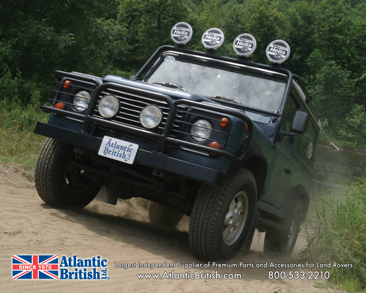 Atlantic British   Land Rover Wallpapers 1280x1024