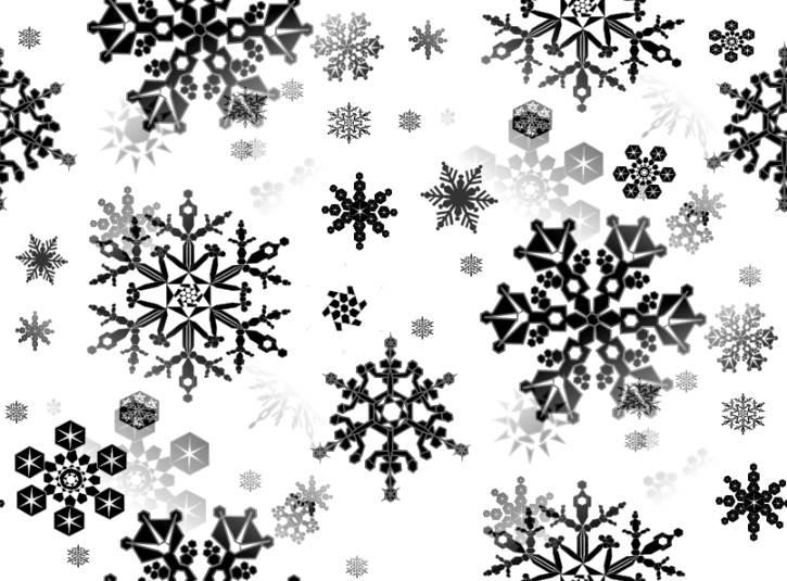 Blue Winter | magic winter snowflakes grungy winter design ... |White Snowflake Wallpaper