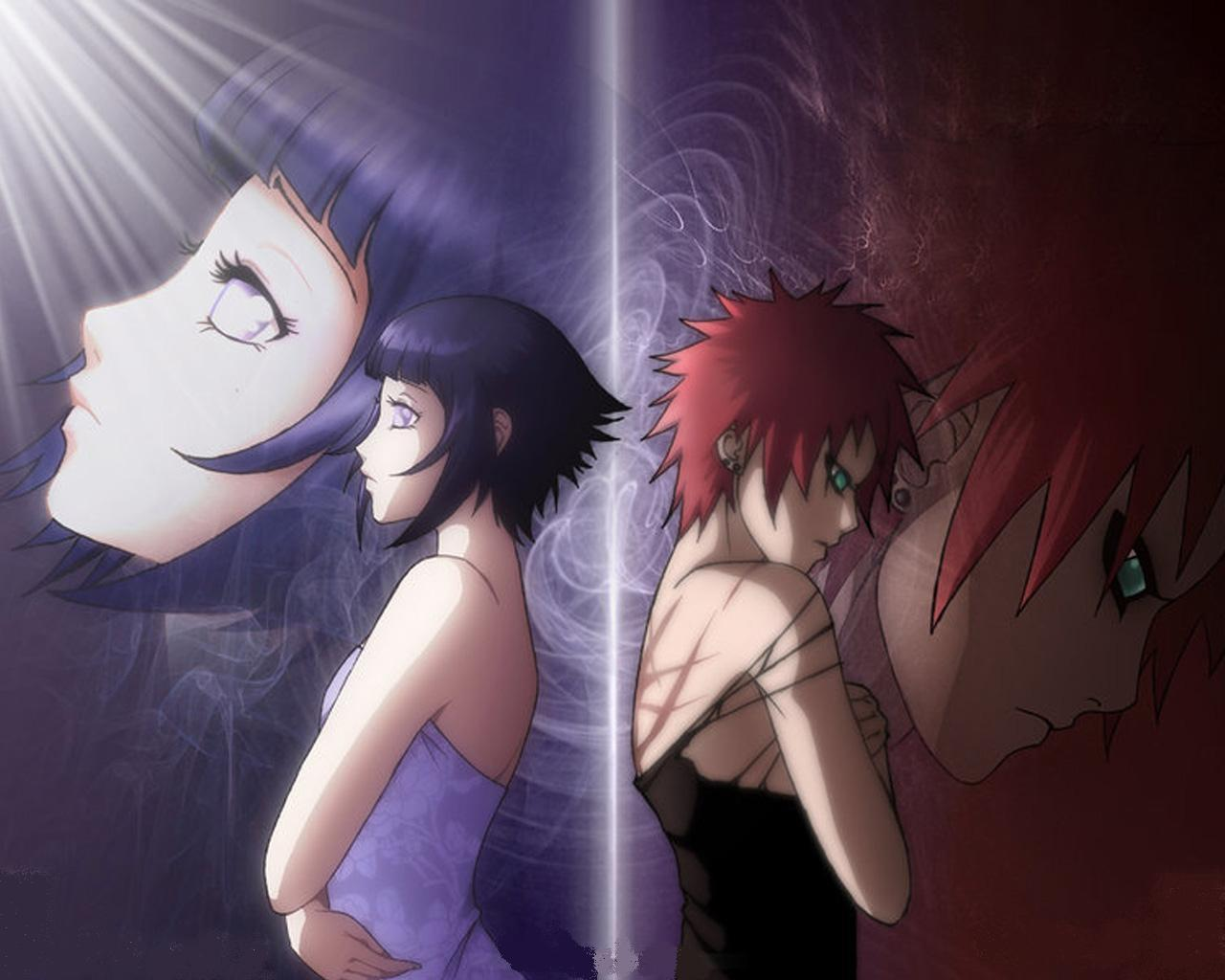 Naruto And Bleach Anime Wallpapers Hinata Hyuga 1280x1024