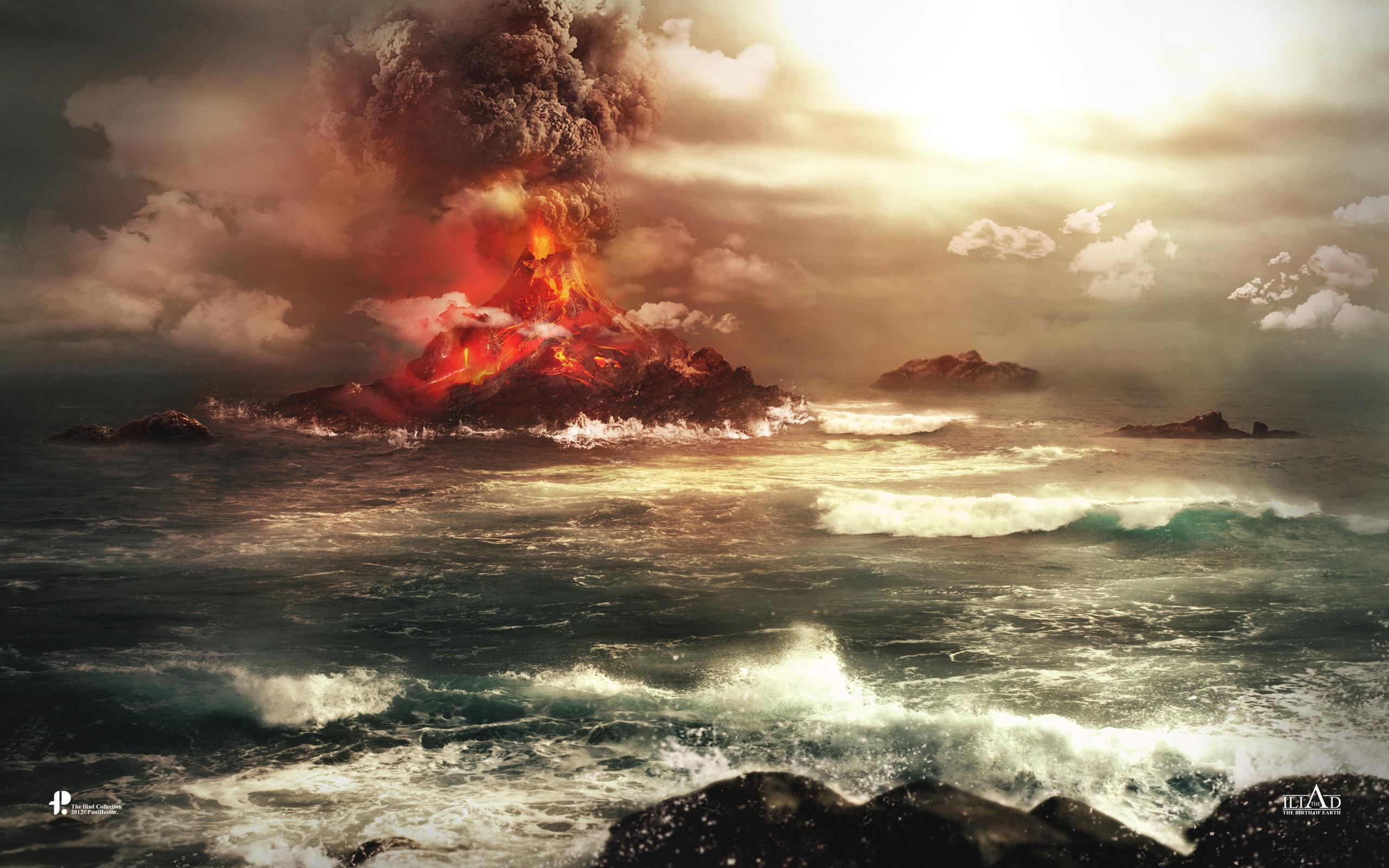 Volcano Wallpapers HD Wallpapers 2560x1600