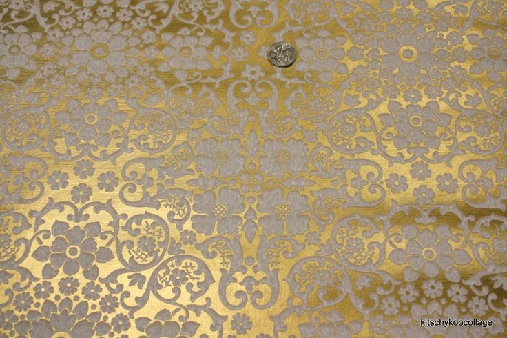 gold metallic wallpaper wallcoverings - photo #16
