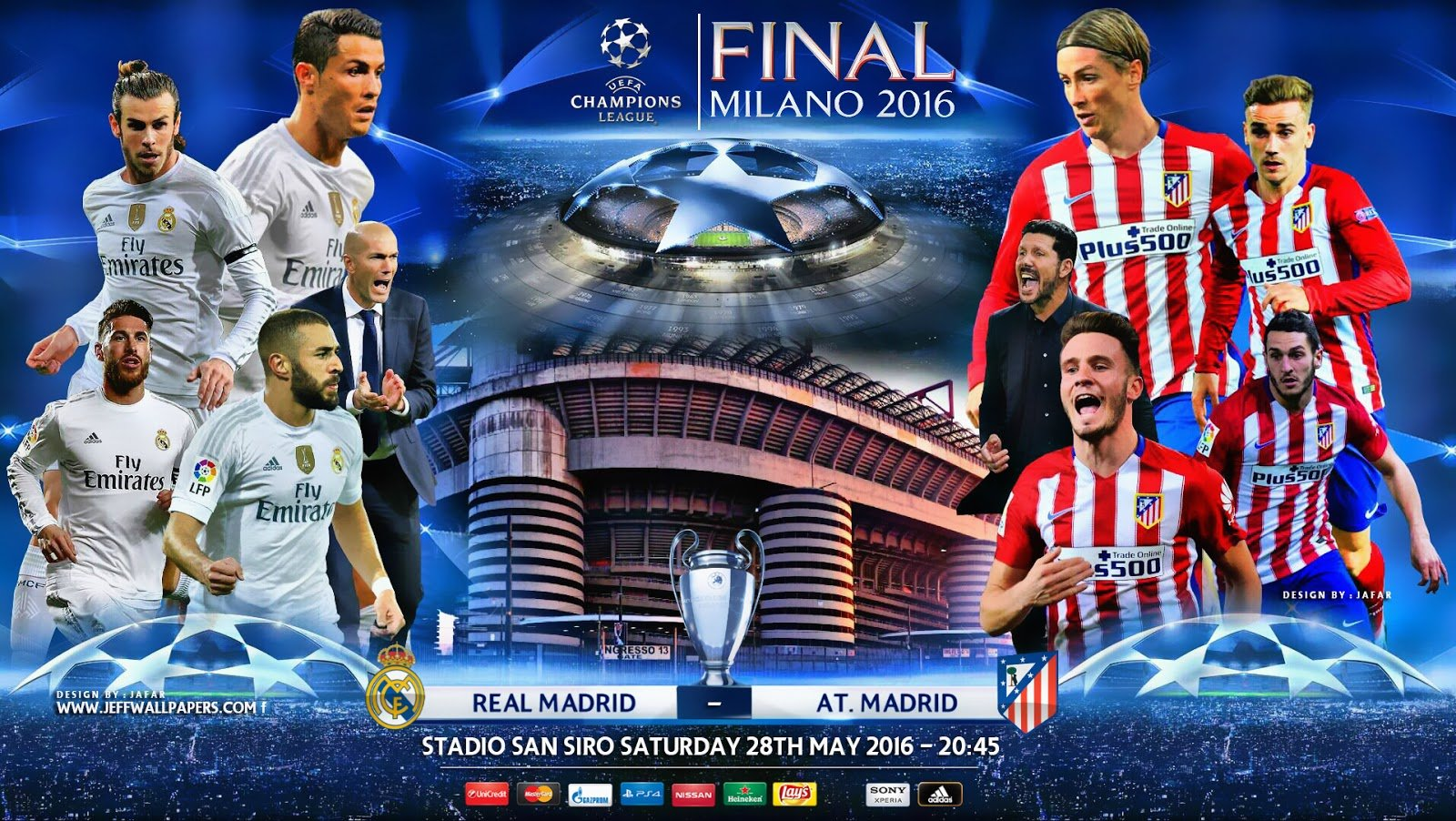 Real Madrid vs Atletico Madrid Final Champions 2016 1600x902