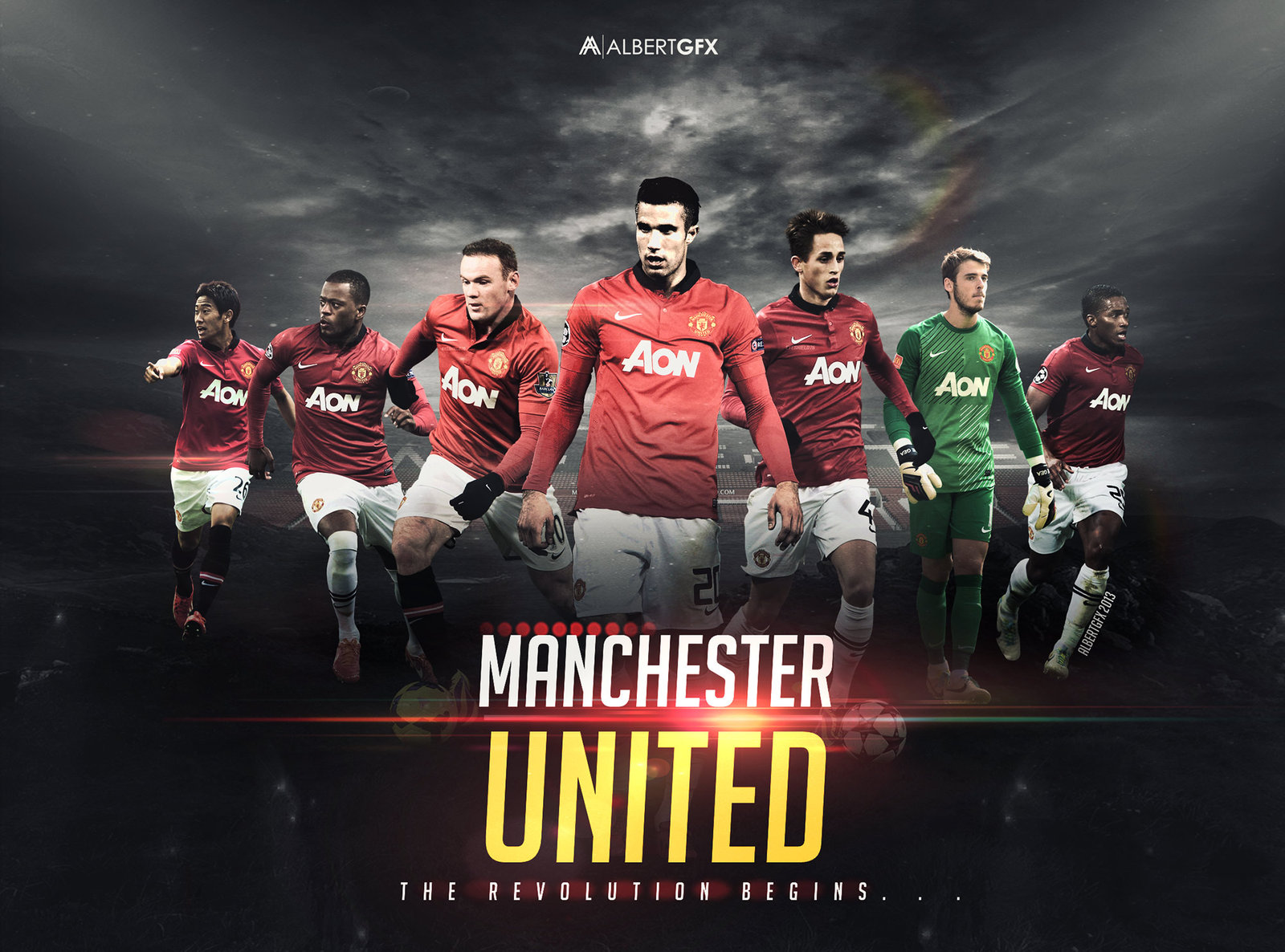 Manchester United Manchester United Wallpaper 1600x1186