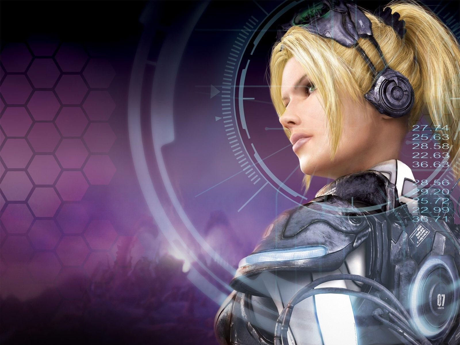 Nova StarCraft Ghost Pictures Wallpapers CG Art Photos 1600x1200