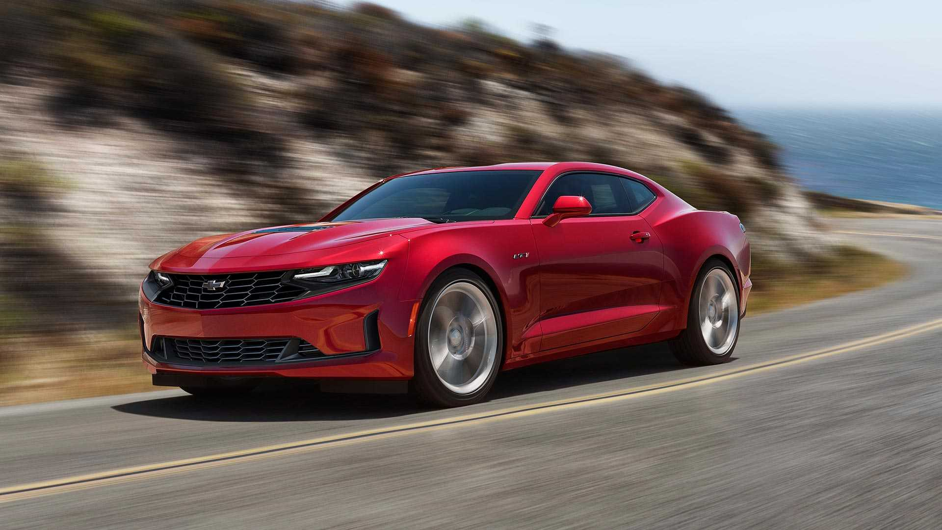 2020 Chevrolet Camaro Saves Face Shows Its New Grille 1920x1080
