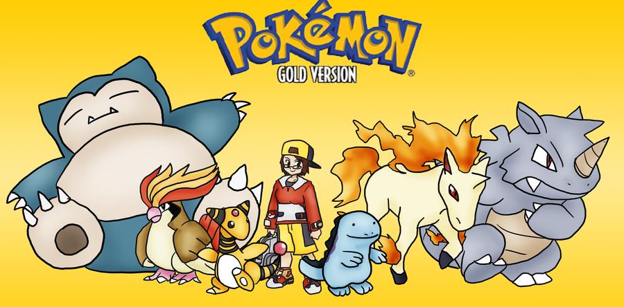 Pokemon Gold L 2012 Playthrough Team by SkyMaro 900x444