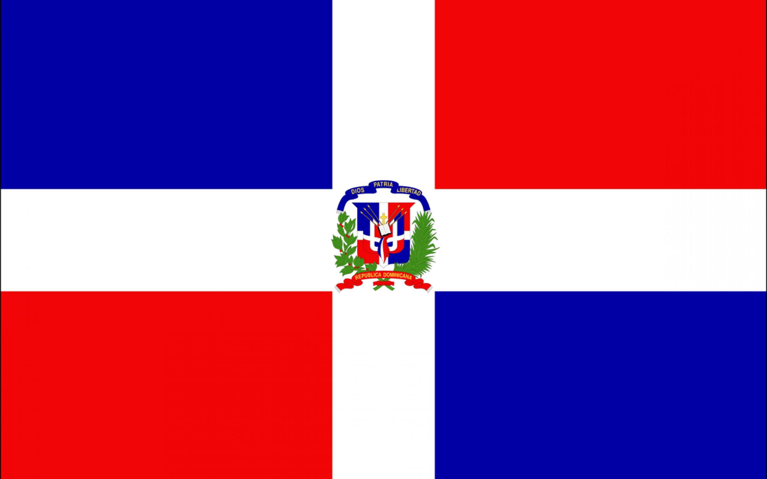 Dominican republic flag wallpaper   SF Wallpaper 2560x1600