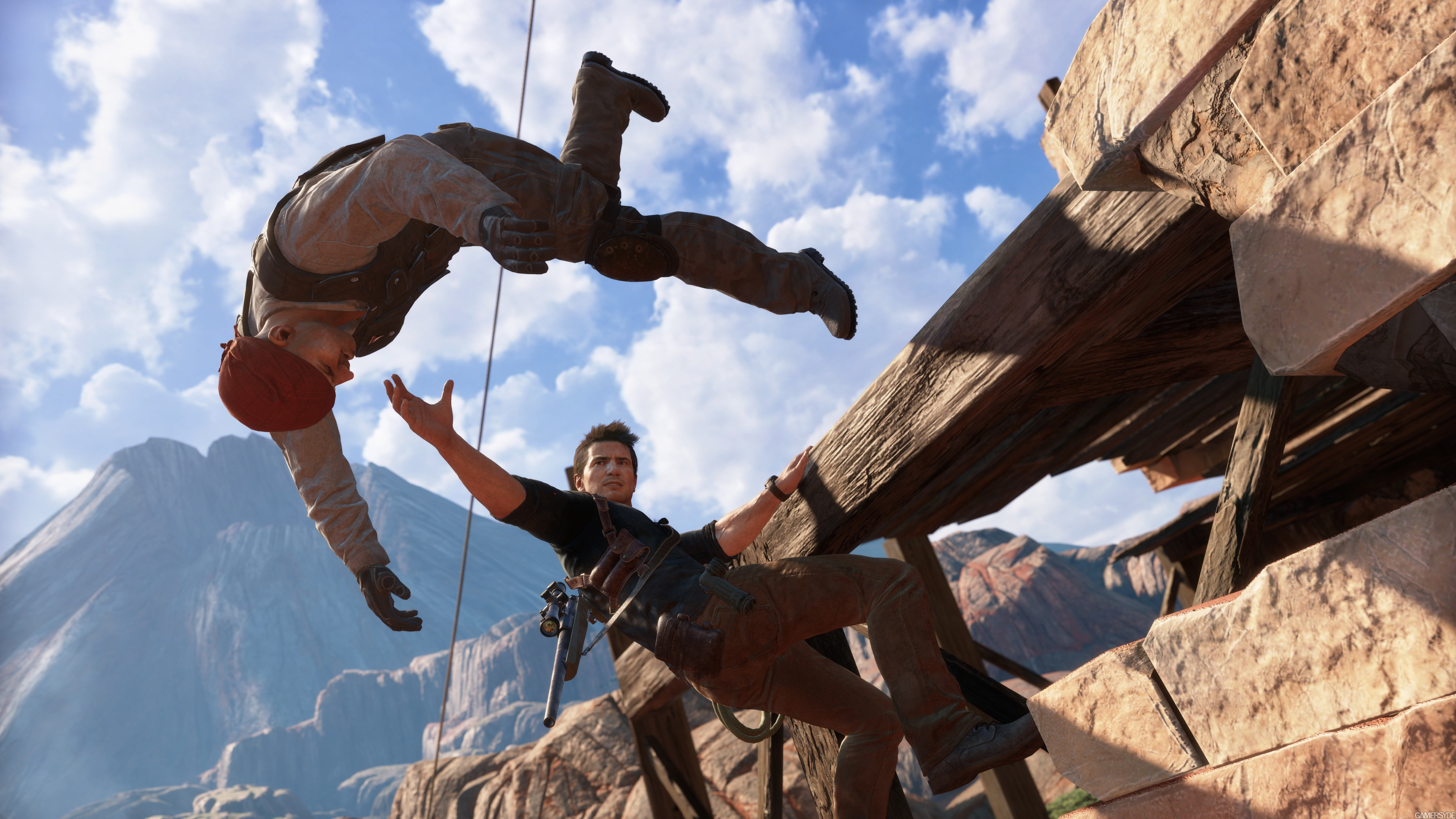 Wallpaper Uncharted 4 A Thiefs End Nathan Drake Best 3840x2160