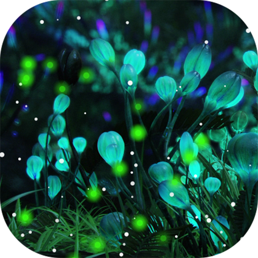 Amazoncom Firefly Forest Live Wallpaper Appstore for Android 512x512