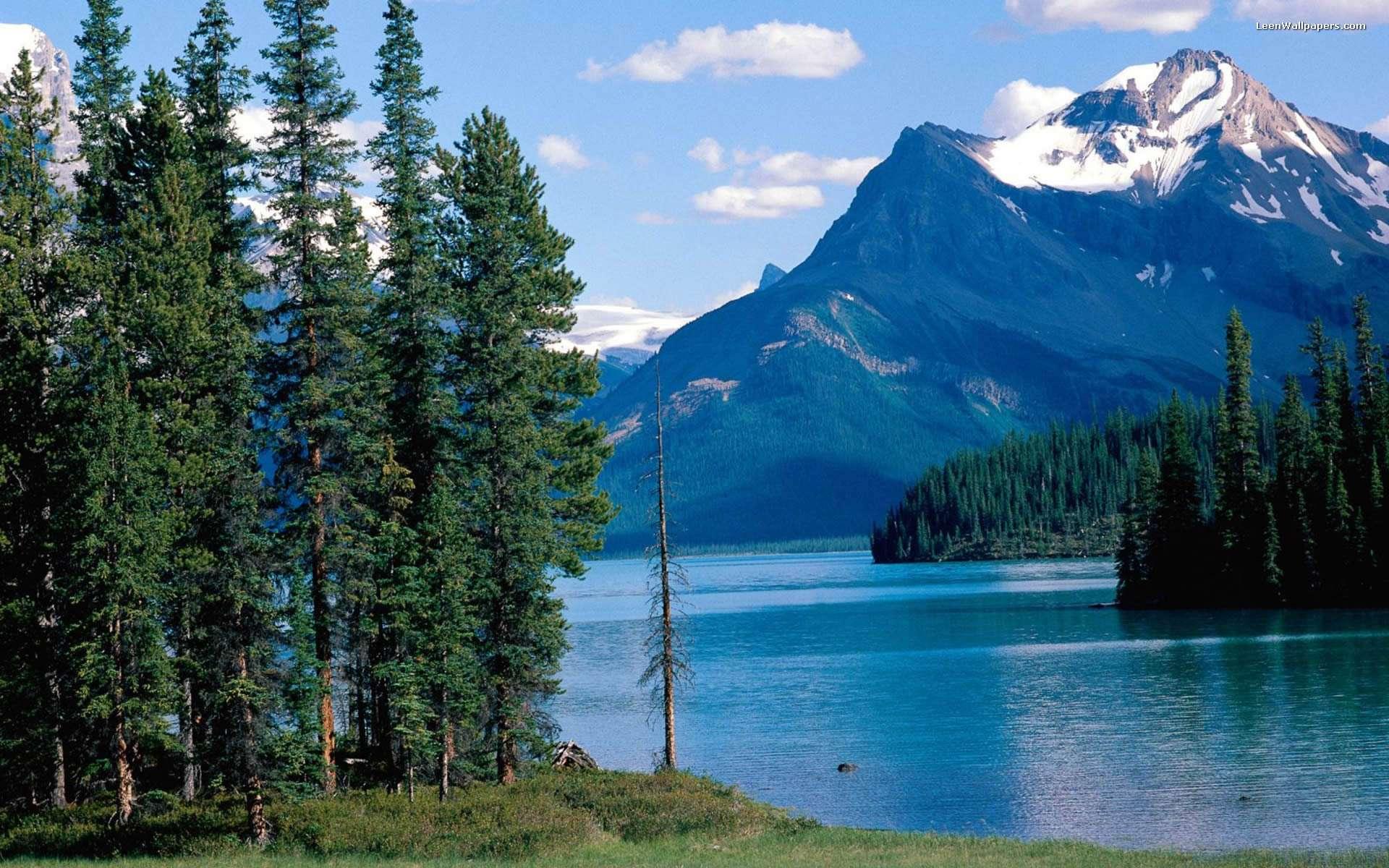 Beautiful Mountain View Desktop Wallpapers Wallpapersafari