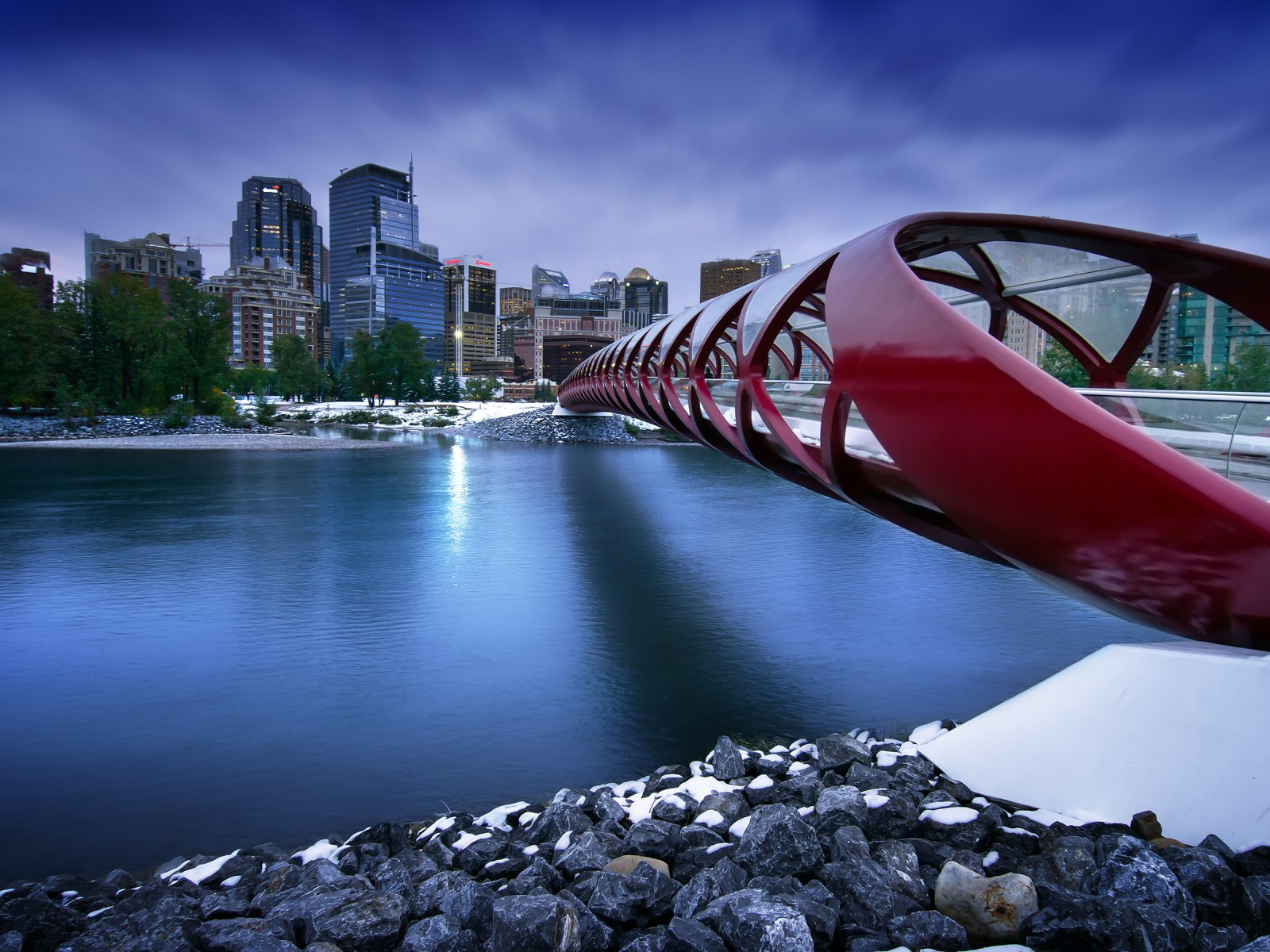 Peace Bridge HD wallpaper for 1600 x 1200   HDwallpapersnet 1600x1200