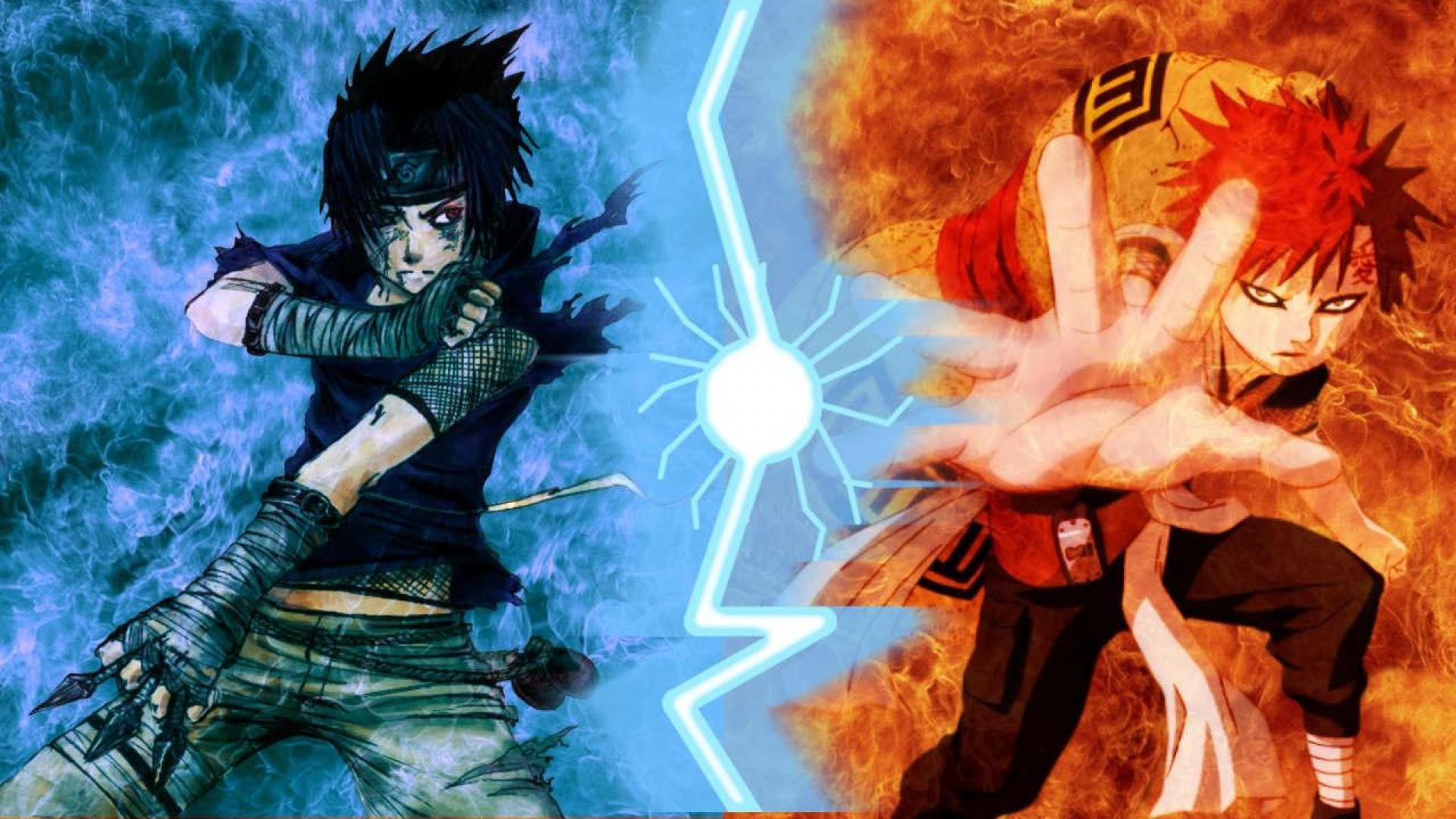 SASUKE VS GAARA WALLPAPER   11370   HD Wallpapers   [WallpapersInHQ 1920x1080