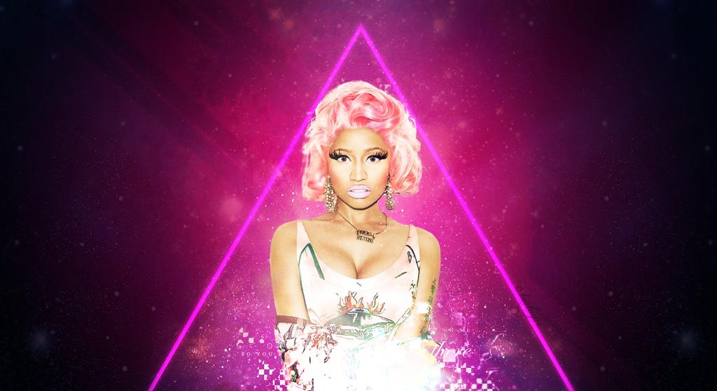 Nicki Minaj Wallpaper by BeShups 1024x559