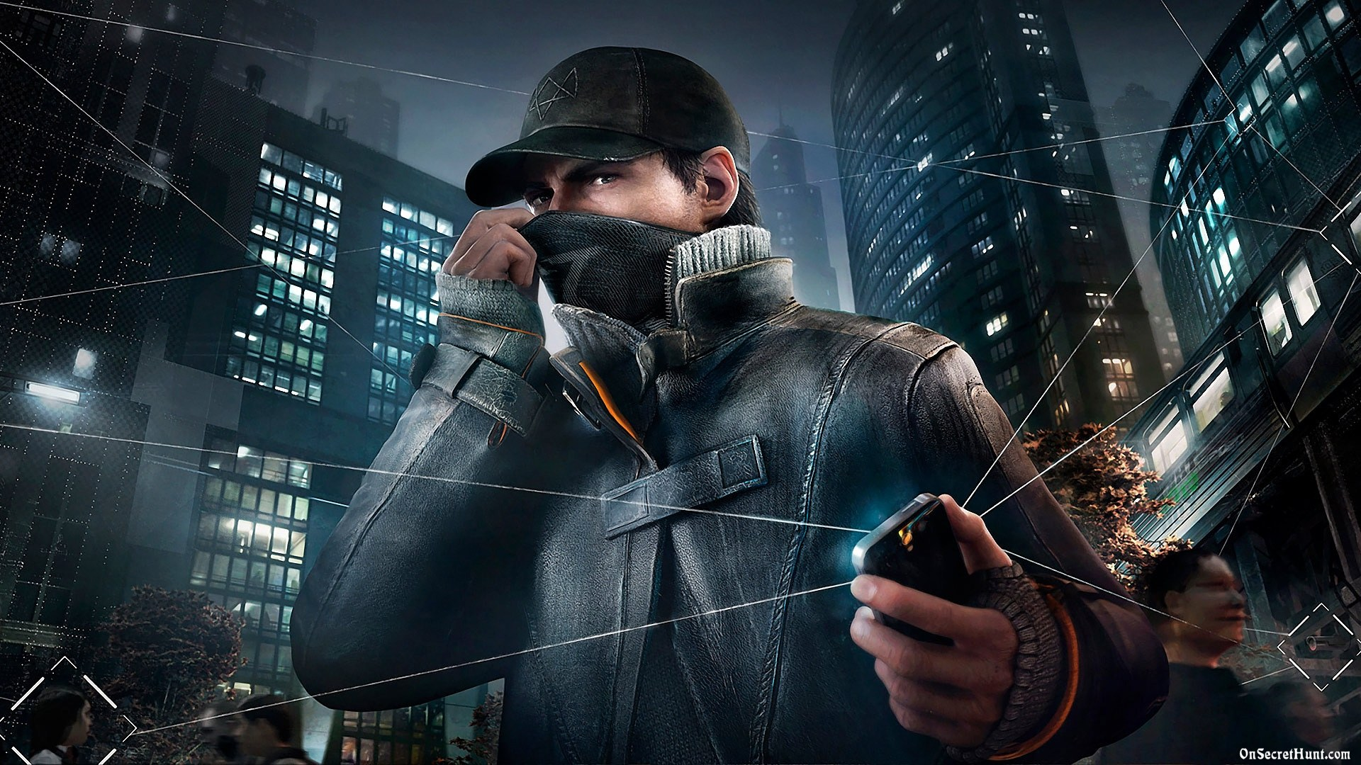 Aiden Pearce Watch Dogs WallpaperImagesPicturesPhotosHD Wallpapers 1920x1080