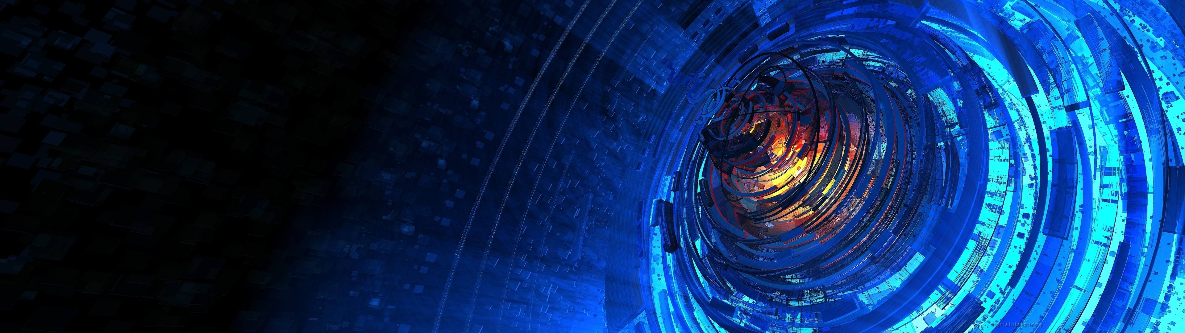 Multi Monitor Dual Screen sci fi wallpaper 3840x1080 30637 3840x1080