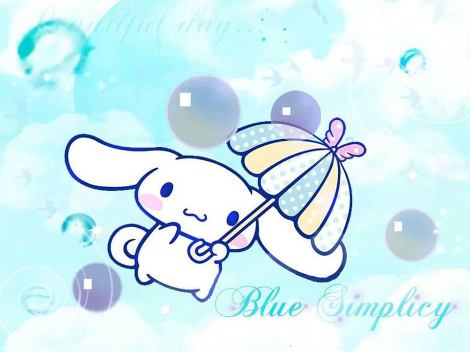Is Such A Kawaii Blue Wallpaper Cute Things Pintere 960x720
