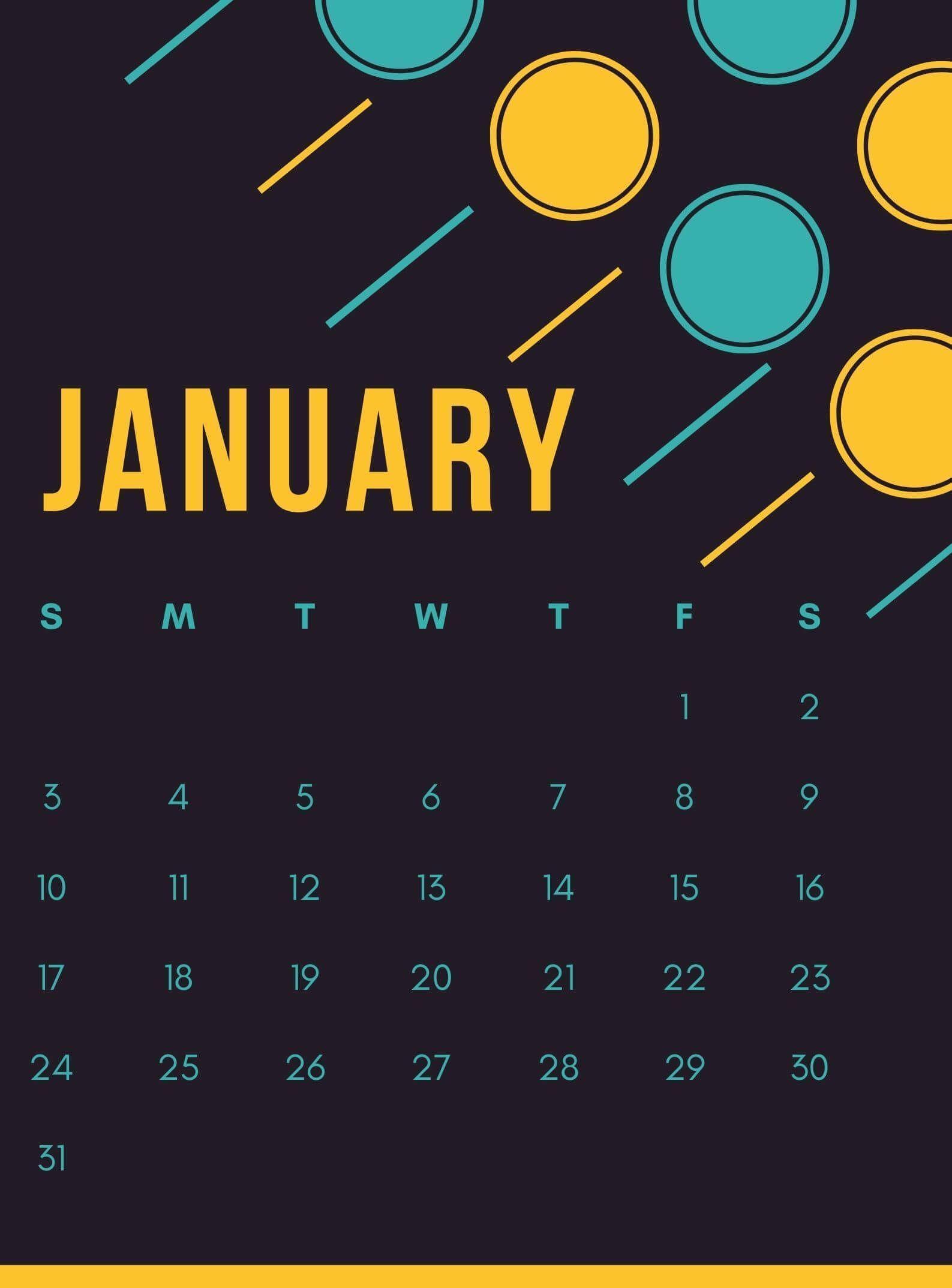 January 2021 Calendar Wallpaper for iPhone 2021 calendar 1587x2147