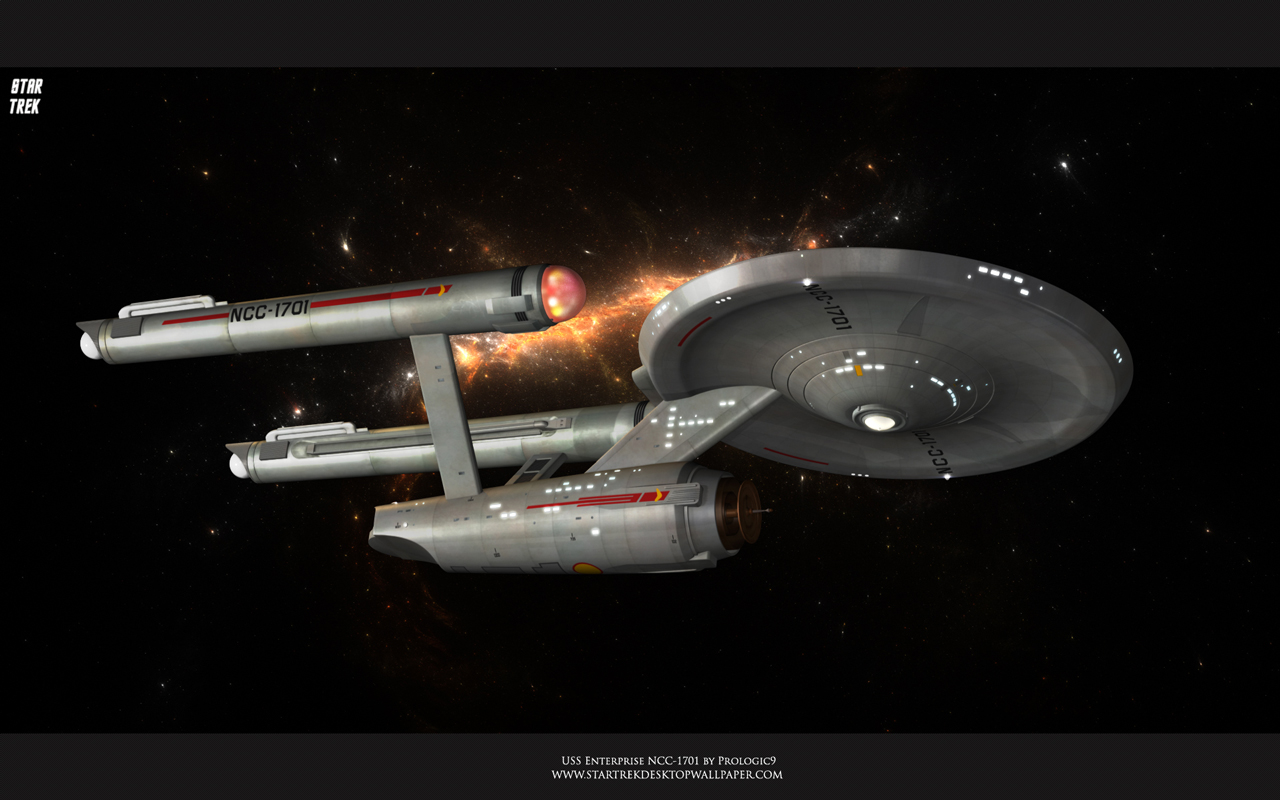 1701 A   Star Trek computer desktop wallpaper pictures images 1280x800