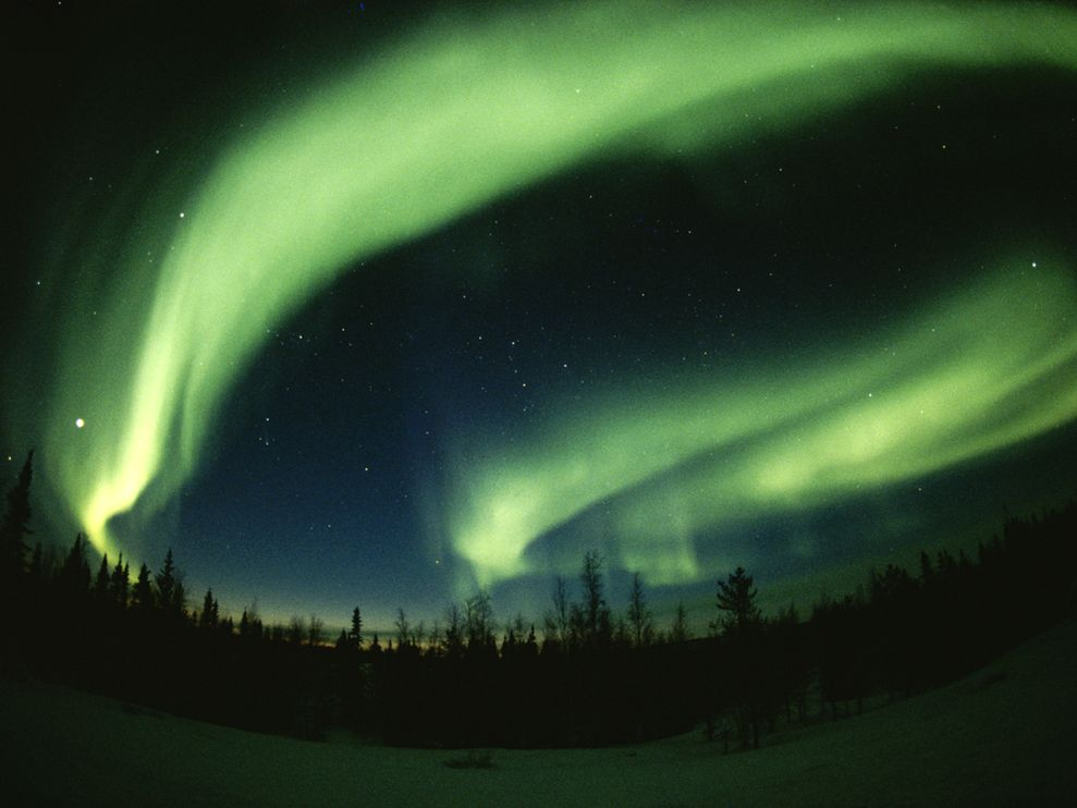 Photo Northern lights 989x742