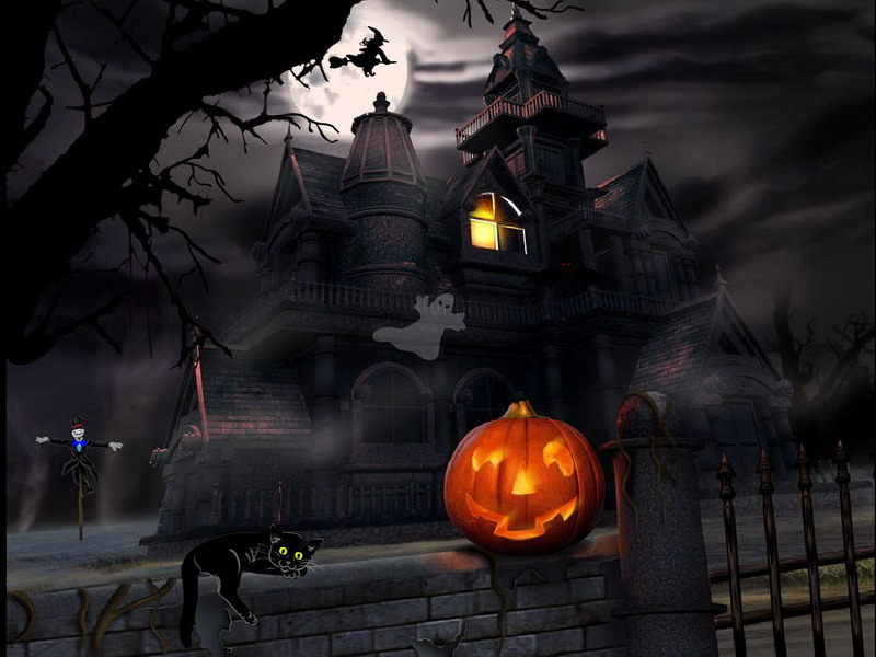 Halloween Screensaver   Halloween Adventure   FullScreensaverscom 800x600