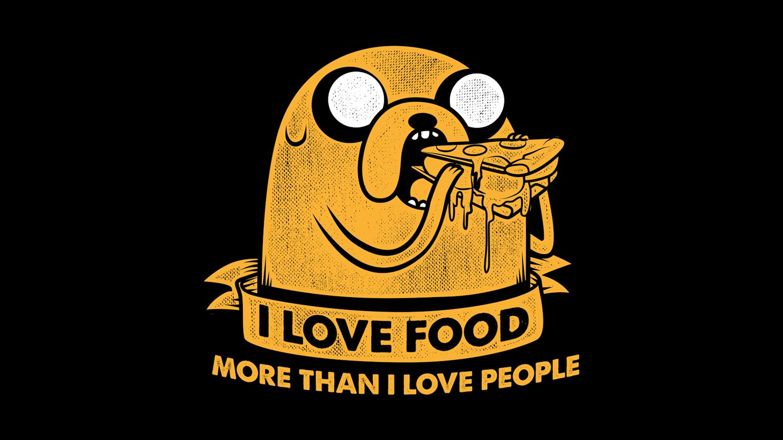 I Love Food by ponygsi 1600x900