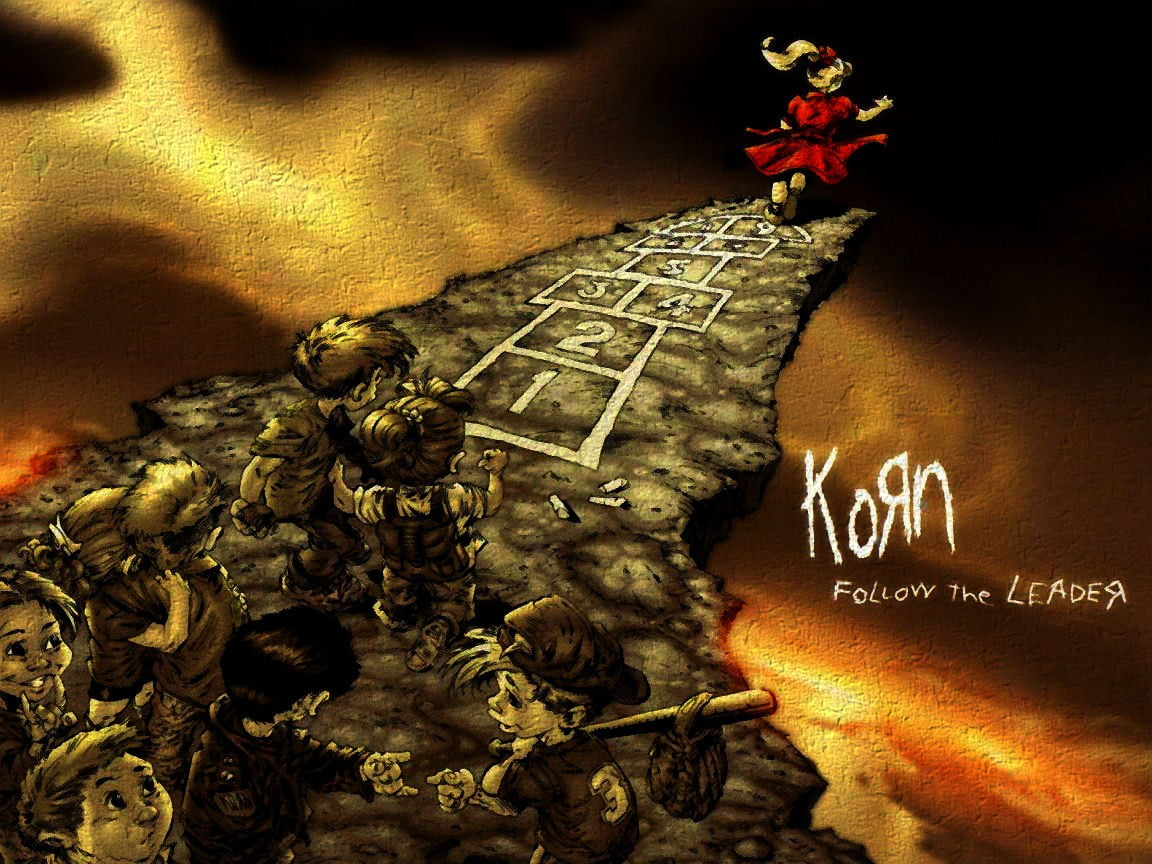 Korn Follow The Leader album heavy metal Korn Nu Metal artwork 1152x864