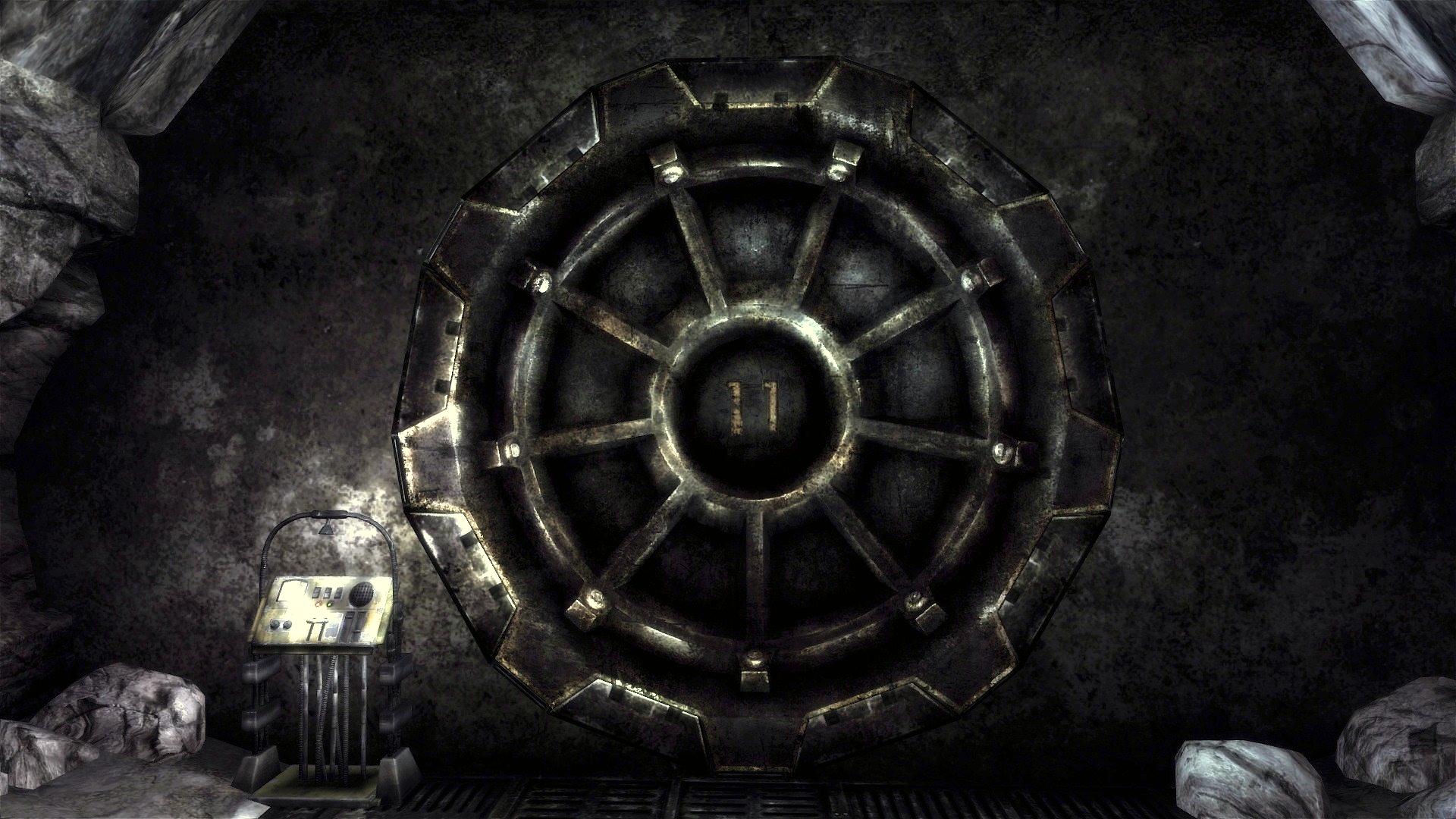 Vault 11 door 1920x1080