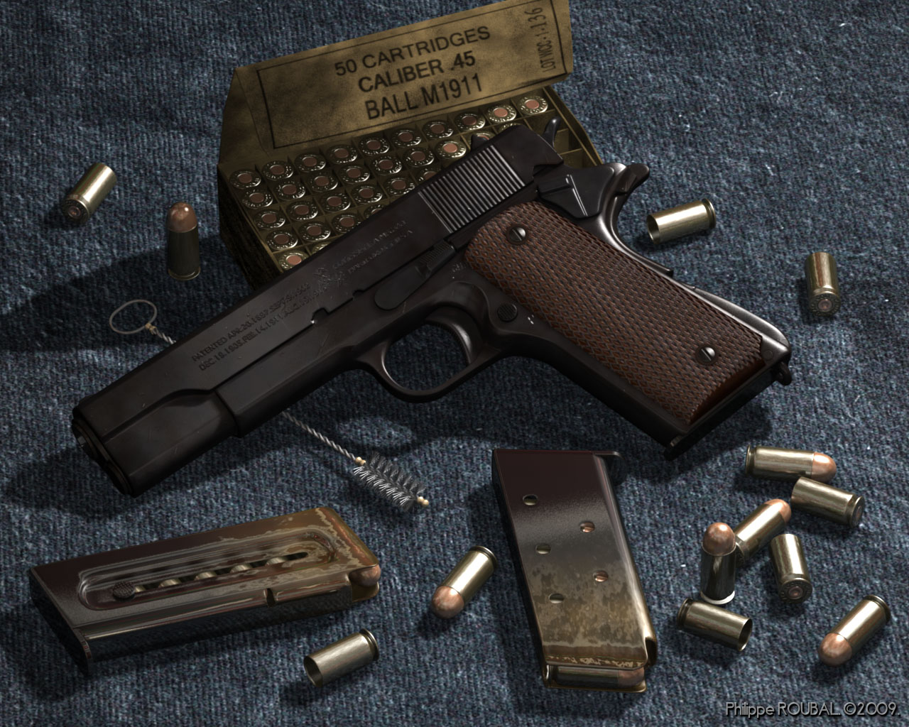 Guns Weapons Colt M1911 1280x1024